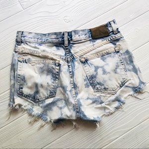 Calvin Klein Jeans Shorts - CK Destroyed Denim Shorts